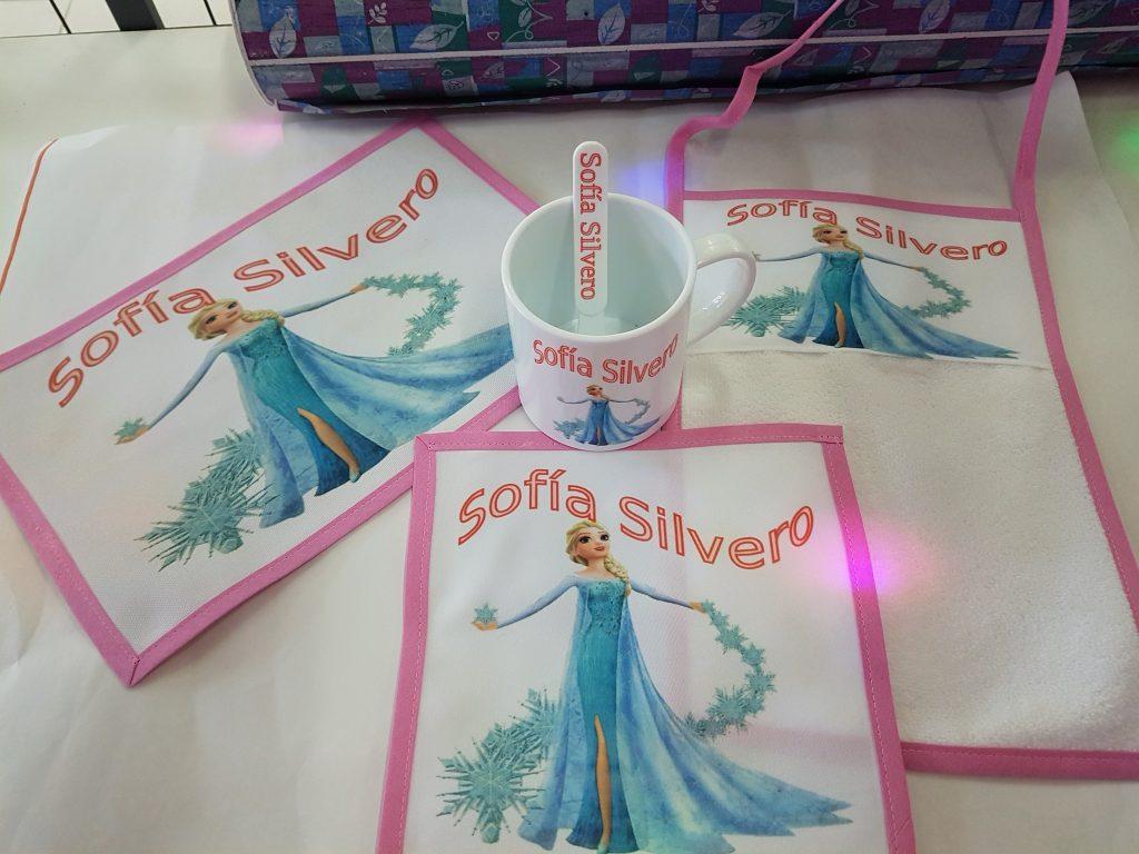 Set de Jardin Personalizado Frozen